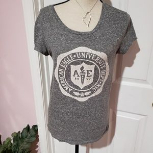 AMERICAN EAGLE OUTFITTERS AEO GRAY TSHIRT